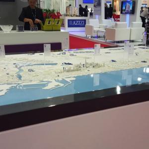 Cityscape Model Dubai