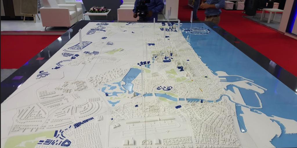 3d printed master plan of dubai generation 3d for 3d printer plan