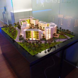 Architectural model 3D Printed Dubai 2