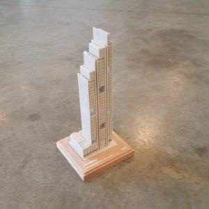 3D Printed Massing Model in Dubai
