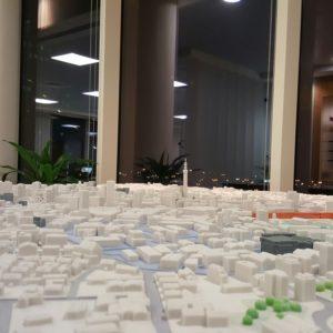 3D Printed Model of Birmingham 4