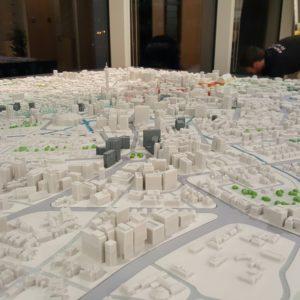 3D Printed Model of Birmingham 3