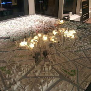 3D Printed Model of Birmingham 1
