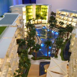 Architectural model 3D Printed Dubai 1