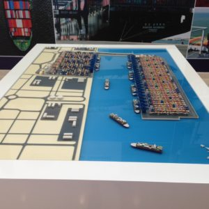 3D Printing port model UAE