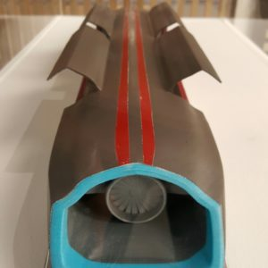 Hyperloop model Generation 3D
