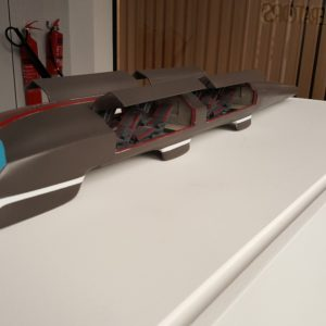 Hyperloop 3D Printed model