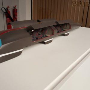 Hyperloop 3D Printed model