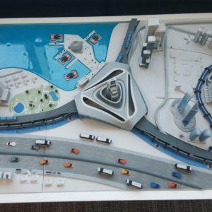 3D Printed Model of 3D printing in Dubai