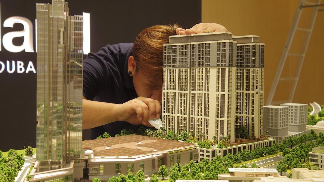 Work in progress 3D Printing project in Dubai