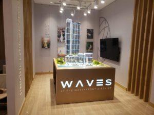 Architectural tower model Dubai