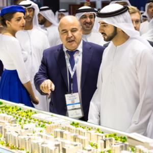 HH Sheikh Hamdan Bin Mohammed Bin Rashid Al Maktoum with Mirwais Azizi