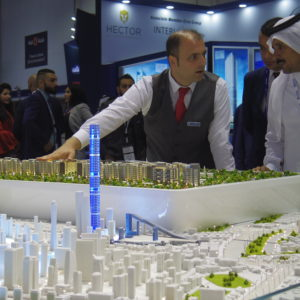 Architectural Model Dubai