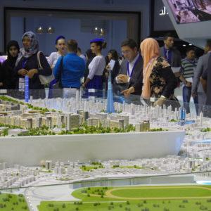 Architectural models dubai Cityscape