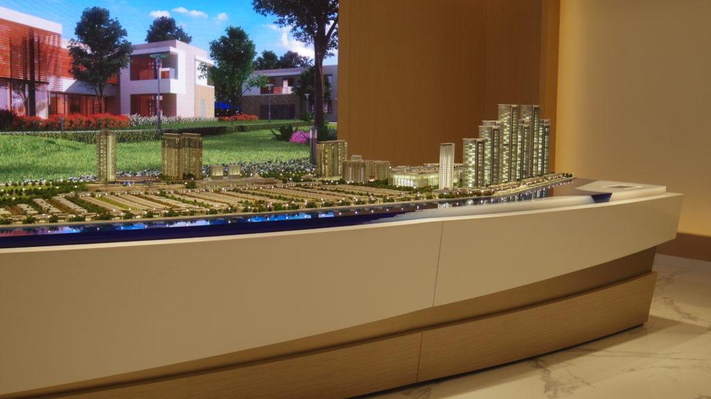 Masterplan Model 3D Printed