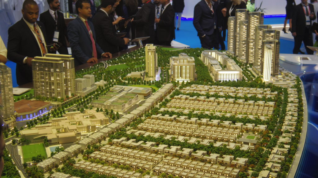 Masterplan model dubai