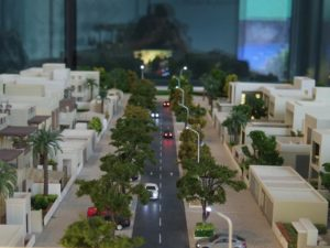 Modon Show Village Model in UAE