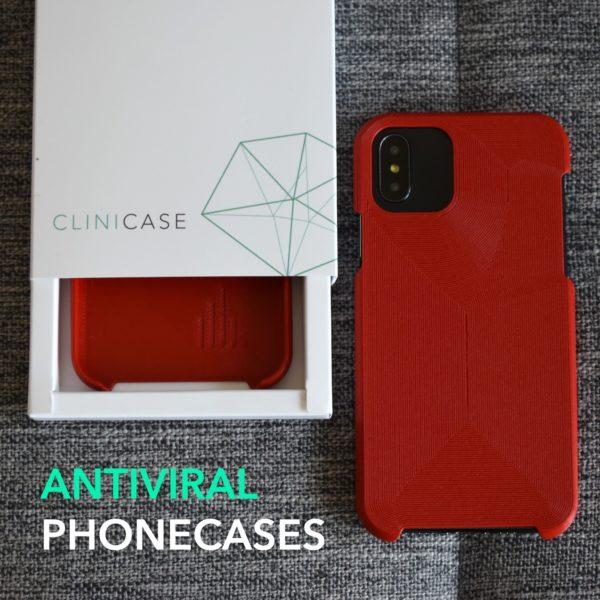 3D Printed Antiviral Phonecases in UAE