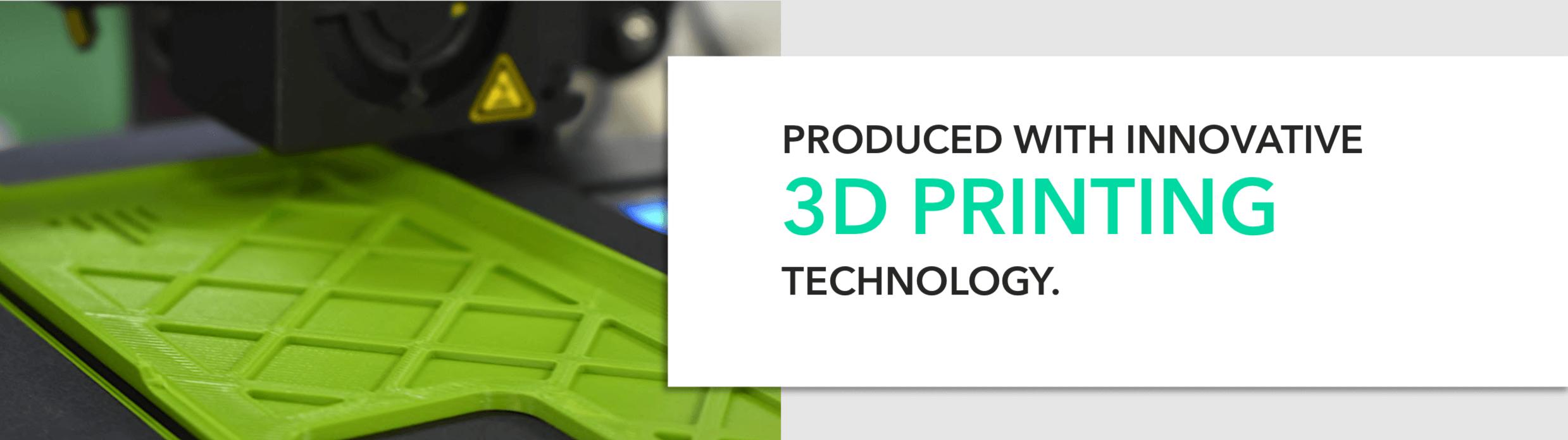Innovative 3D printing