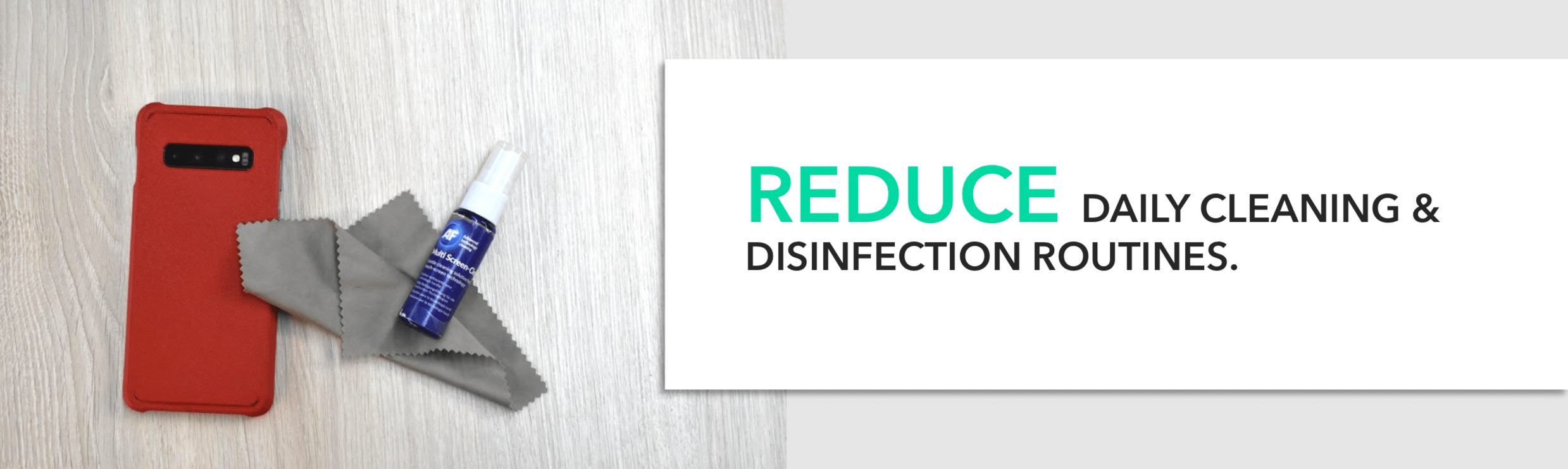 Reduce Daily Cleaning