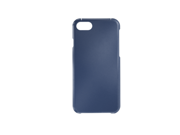 3D Printed iPhone 6-7-8 SE Cover - Blue Front