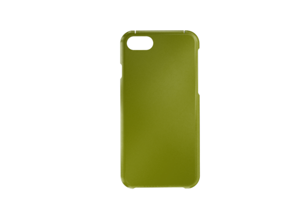 3D Printed iPhone 6-7-8 SE Cover - Green Front
