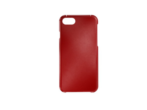 3D Printed iPhone 6-7-8 SE Cover - Red