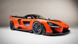 Super car model