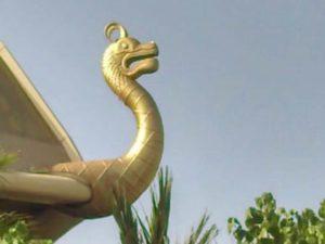 3D Printed Dragon Head in UAE