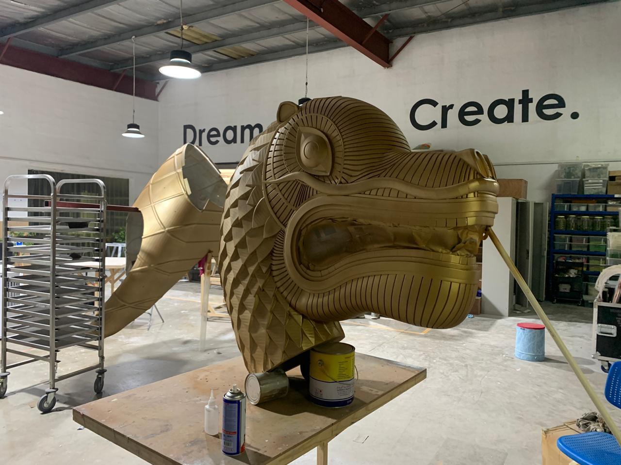 3D printing Dragon Head